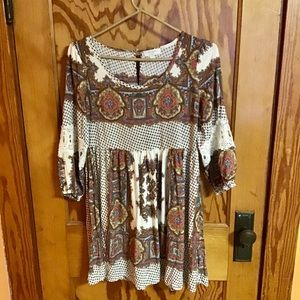Umgee boho feminine hippie chic festival dress